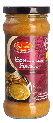 Schani - Goa Sauce Kokosnuss-Sahne - 340g