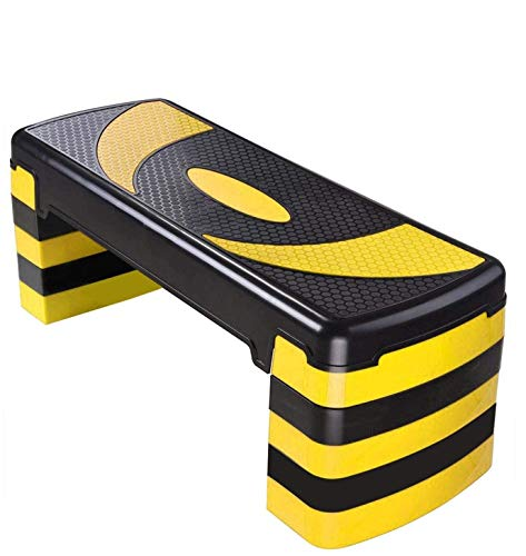 Max Strength Aerobic Stepper Cardio Fitness Step Board - 5 Stufen Home-Gym Übungsblock