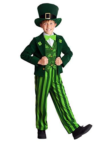 Patricks Day Costume Lil Leprechaun Boys Child Irish Jumpsuit Green Holliday St