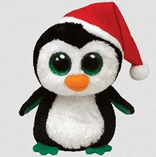 Carletto 388-36992 Beanie boo - Penguin 'waddles' - Special Christmas edition by Carletto