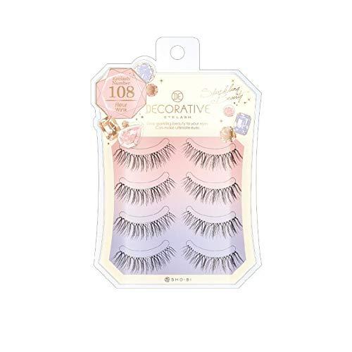 Decorative Eyelash Eyelash 108 Fleur Wink 4 Pairs