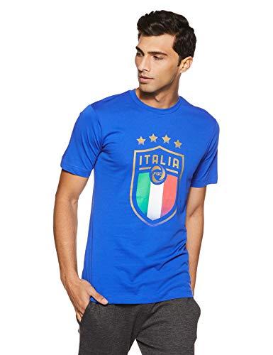 PUMA Italia Wappen T-Shirt Team Power Blue L