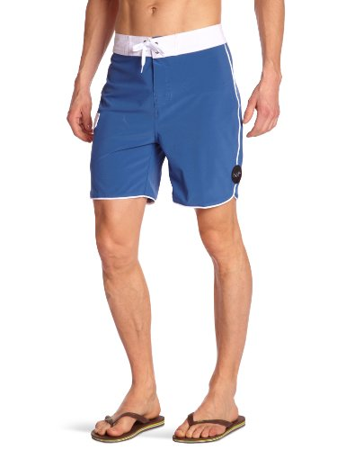 Globe Super Short de bain homme Washed Blue FR : 40 (Taille Fabricant : 30)