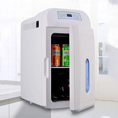 GAOXIAOMEI 28 litros Compact Cooler Warmer Mini Fridge con alimentación de AC/DC - Ideal para Dormitorio, Oficina, automóvil, Dormitorio - Portátil Frigorífico para el Cuidado de la Piel