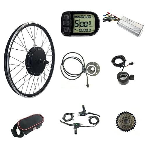 Schuck Elektrofahrrad Umbausatz 26 Zoll 48 V 1000 W Hinterrad Motor E-Bike Radfahren BLDC Nabenmotor mit LCD5 Display