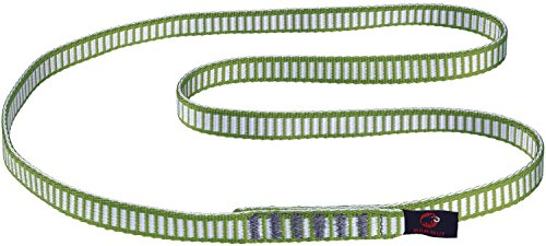Mammut Ruban Tubulaire Sling 16.0 Green – Ruban, Unisexe – Vert (Green)