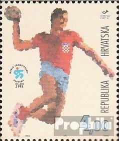 Prophila Collection Kroatien 318 (kompl.Ausg.) 1995 Handball WM Island (Briefmarken für Sammler)