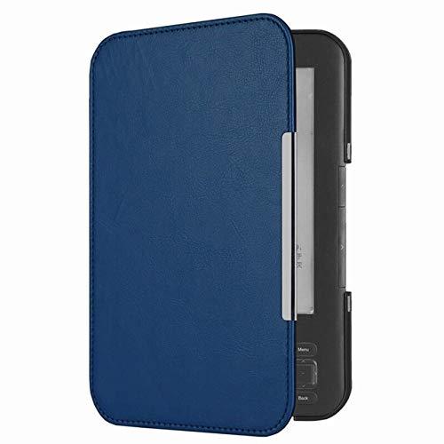 XXIUYHU Ultra Slim Smart Magnetic Ledertasche für Amazon Kindle 3 3. Generation E-Book-Reader Tastatur Bildschirm Kindle 3 FallMarineblau