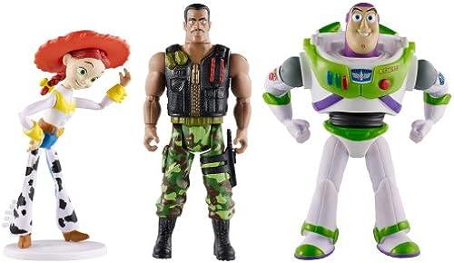 Mattel CBF07 – Disney Pixar – Toy Story of Terror – Figuren 3er Pack [UK Import]