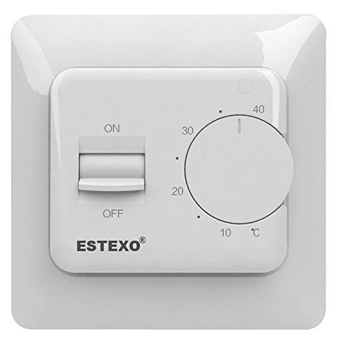 Analoges Unterputzthermostat E73.16 - 16 A Raumthermostat für Elektroheizung