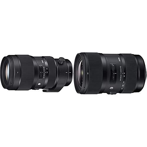 Sigma 50-100mm F1,8 DC HSM Art Objektiv (82mm Filtergewinde) für Nikon Objektivbajonett & Sigma 18-35mm F1,8 DC HSM Art Objektiv (72mm Filtergewinde) für Nikon Objektivbajonett