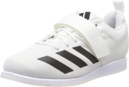 adidas Powerlift 4, Zapatillas de Deporte para Hombre, Blanco (FTWR White/Core Black/FTWR White FTWR White/Core Black/FTWR White), 42 2/3 EU