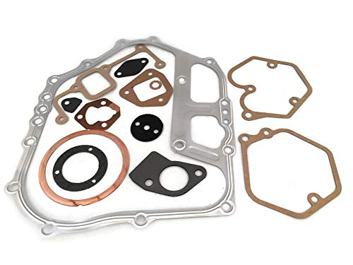 Replaces Overhaul Gasket Set Kit Head Gasket for Yanmar L90 L100 Chinese Diesel Engine Generator 186F 186FA 186F Lawnmower Rammer