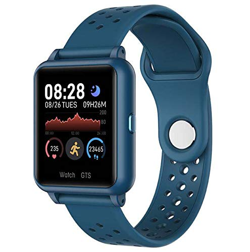 Fitness Tracker Pulsera inteligente, IP67 Rastreador de actividad impermeable con temperatura corporal Monitor de sueño Reloj contador de calorías, Pulsera inteligente para mujeres y hombres,Natural