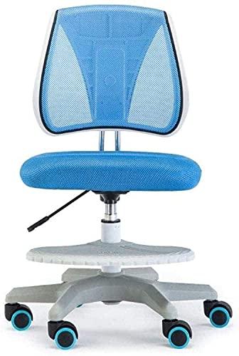HTL Comfortable Lift Swivel Chair Swivel Chair Kids Mid-Back Mesh Desk Chair Adjustable Computer Chiar Study Chair Office Chair Game Chair Kneeling Chair
