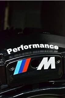 M Performance Brake Caliper Decal Sticker Hi-Temp Premium Cast Vinyl For BMW