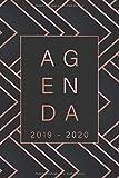 Agenda 2019 - 2020: 19 novembre au 20 décembre - 1 semaine en un coup d'œil - DIN A5 15 x 23 cm Planificateur mensuel...