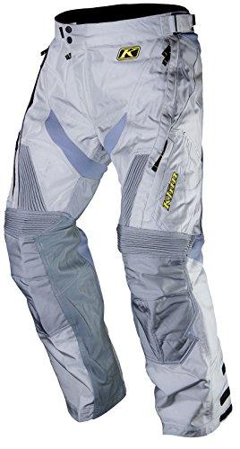 Klim Dakar - Pantalones de motocross para hombre, talla 30, color gris
