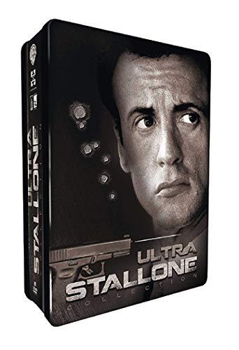 Ultimate Stallone - 8-DVD Steel Box Set ( Get Carter / The Specialist / Driven / Demolition Man / Cobra / Assassins / Tango & Cash / Victory ) (Steelbook Editio [ Französische Import ]