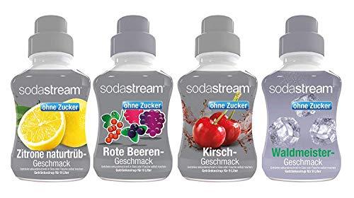 SodaStream Sodastream 4er Packung Fruchtschorle ohne Bild