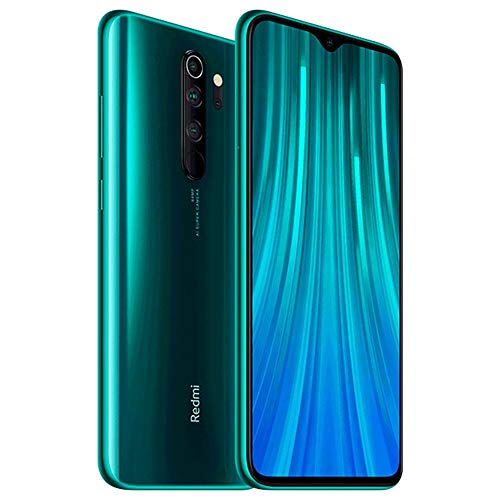 Xiaomi Redmi Note 8 Pro 128GB, 6GB RAM 6.53' LTE GSM 64MP Factory Unlocked Smartphone - Global Model (Forest Green) (Green, 128)