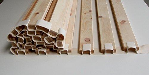 grohsartig® - Premium - Rollrost aus Zirbenholz, Lattenrost, 90x200 cm