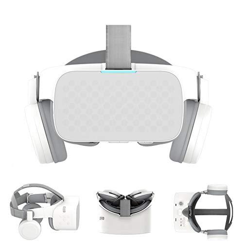 Lunette 3D VR Casque De Réalité 5.5 Pouces WiFi Pliable Virtuelle Films Et Jeux Compatibles avec Smartphones Angle Livré avec Un Casque Stéréo
