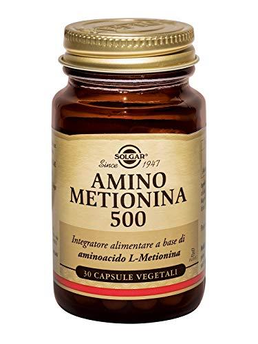 L-Metionina 500Mg.(30) Cáps.Veg.