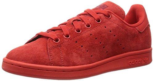 Adidas Stan Smith Scarpe Low-Top, Unisex adulto, Rosso, 36 2/3
