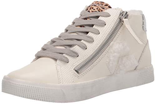 Dolce Vita womens Zonya Sneaker, White Multi, 8 US