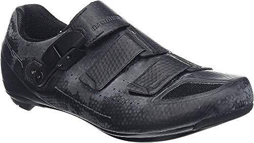 Scarpe bici da corsa Shimano scarpe da ciclismo SH-RP9W taglia 45 SPD-SL Velcro Ratschenv/adulto. CF, Multicolore, 45, ESHRP9NC450SW00