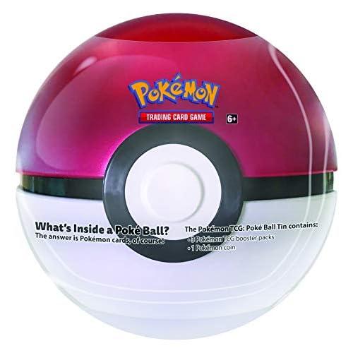 Pokémon POK82367TCG: Poké Ball metallo, colori assortiti