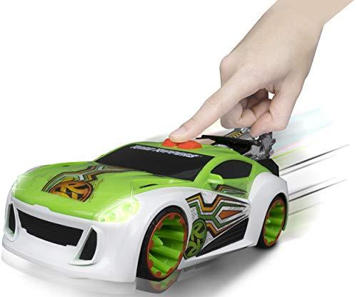 Nikko – Road Rippers Maximum Boost – Motorisiertes Spielzeug Auto mit Licht und Sound – Wheelie Auto für Kinder – 25 x 11 x 9 cm – Grün