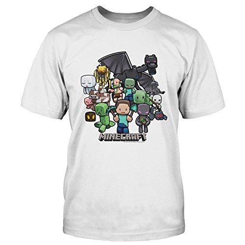 Camiseta Minecraft Party talla L