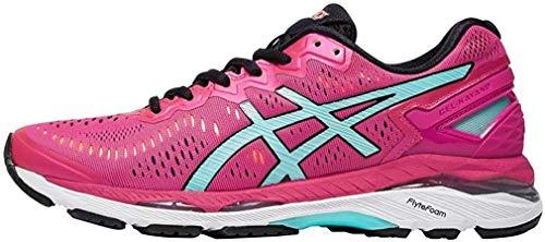 Asics Gel-Kayano 23 W, Zapatillas de Deporte Exterior para Mujer, (Sport Pink/Aruba Blue/Flash Coral), 37 EU