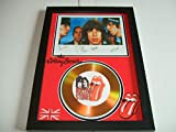 Disque d'or signé The Rolling Stones