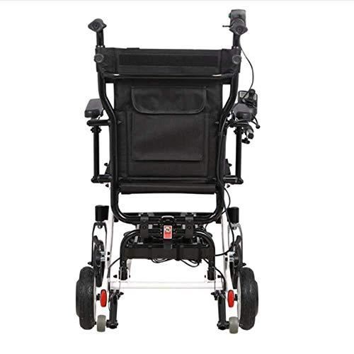 Rolstoel elektrische rolstoel inklapbaar lichtgewicht multifunctionele inklapbaar lengte * breedte * hoogte (cm) 77 * 57 * 28