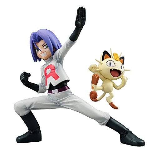 Pokemon G.E.M. Series Team Rocket James and Meowth Figura Set