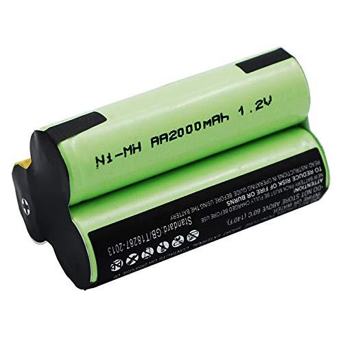 subtel® Staubsauger Ersatz Akku für AEG Junior 2.0 / Electrolux Junior 2.0-3.6V, 2000mAh, NiMH Type141 Ersatzakku Batterie