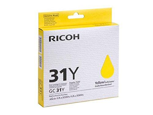Ricoh 205110 - Cartucho de inyección, color amarillo