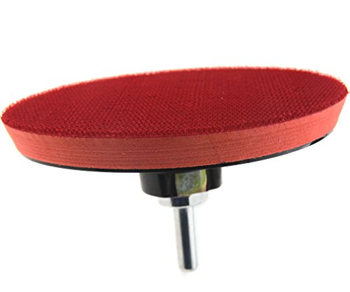 Buffing Polishing Pad Waxing Sponge with Hook and Loop Backing