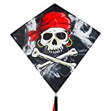 In the Breeze Diamond Kite - Single Line Beginner Kite - Smokin'...