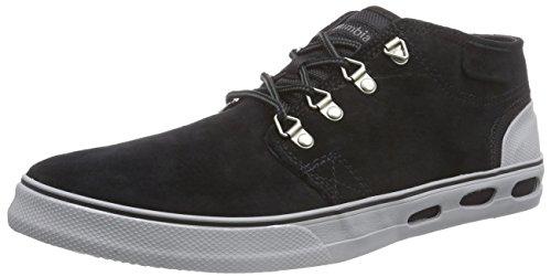 Columbia VULC N VENT HALF DOME, Herren Sneakers, Schwarz (Black/Light Grey 010), 42 EU