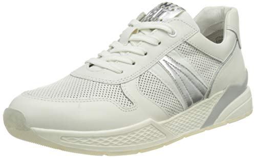 MARCO TOZZI 2-2-23731-26 Leder Sneaker, Zapatillas Mujer, Color Blanco, 41 EU