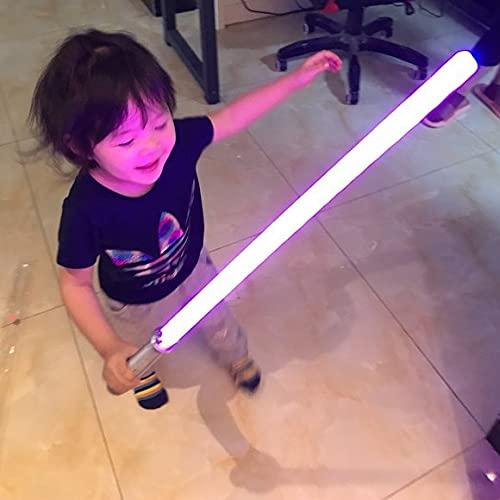 HRTX Espada de Juguete Brillante para niños de Star Wars, Talla única