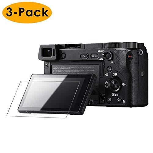 KIMILAR Vetro Temperato Pellicola compatibile con Sony A5000 A6000 A6300 Nex-7 NEX-6 NEX-5, Durezza 9H Anti Graffi Protettivo Vetro Screen Protector compatibile con Sony Mirrorless Digital Camera
