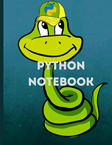python notebook: for computer scientists Composition notebook journal - 160 pages / 21.59 x 27.94 cm / 8.5 x 11 in.