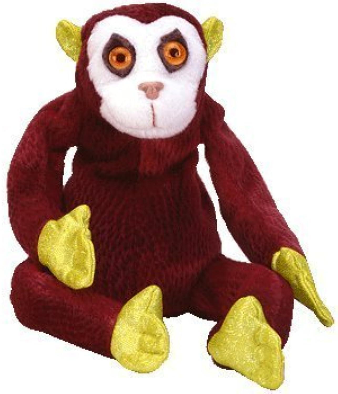 100% garantía genuina de contador TY Zodiac Monkey Beanie Baby by by by Ty  primera vez respuesta