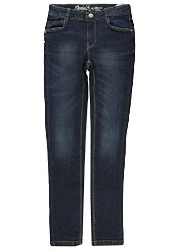 Junior Brands Group Lemmi Mädchen Jeggings Jeans Girls MID Jeanshose, Blau (Dark Blue Denim|Blue 0012), (Herstellergröße: 158)