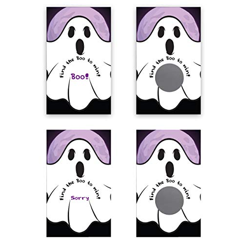 My Scratch Offs Halloween Party Spooky Ghost Scratch Off Game Card - 25 Pack